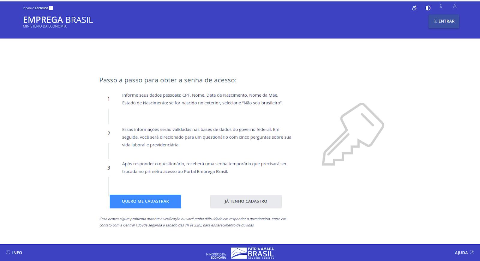 Emprega brasil Carteira de Trabalho Digital