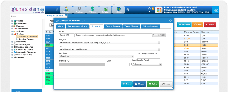 Tributação Simplificada sistema de gestão da una sistemas e tecnologia